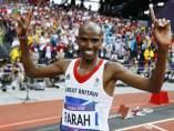 Mo Farah, oro en el 5.000 m