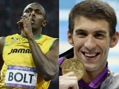 Bolt y Phelps, leyendas ol�mpicas