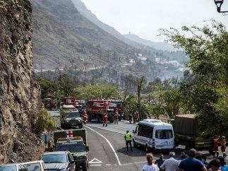 Incendio La Gomera