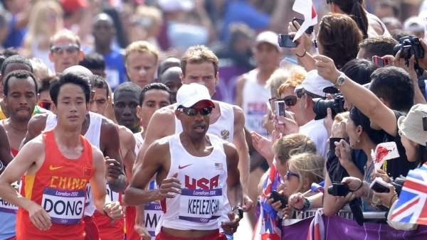 Maratón en Londres 2012