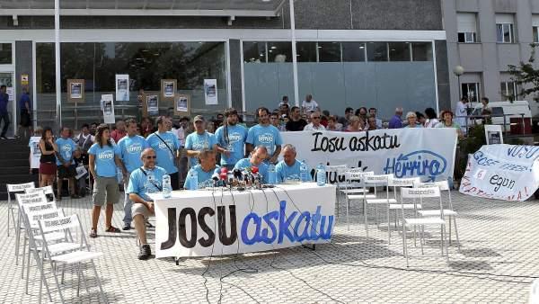 Huelga por Uribetxebarria