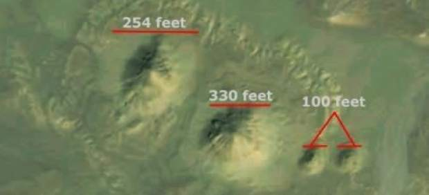 Descubren dos nuevas pirámides a través de Google Earth