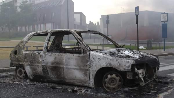 Disturbios en Amiens (Francia)