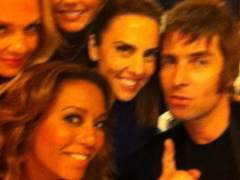 Spice Girls y Liam Gallagher