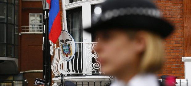 Londres embajada de Ecuador