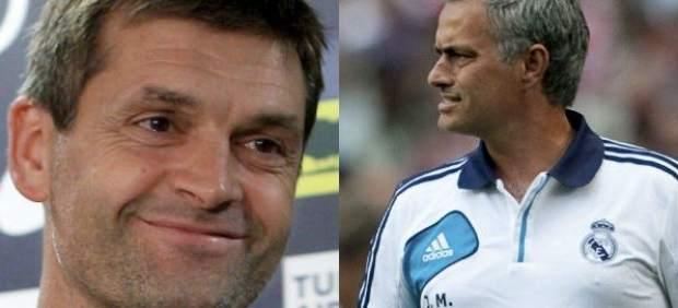 Tito Vilanova y Mourinho