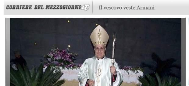 El obispo que da misa de Armani