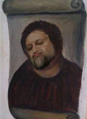 Mariano Rajoy como 'Ecce Homo'.