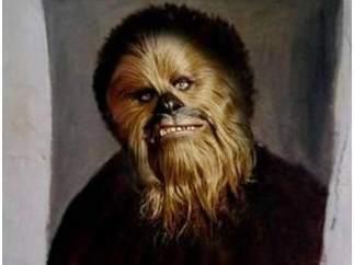 Chewbacca como 'Ecce Homo'