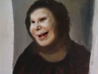 La Duquesa de Alba como 'Ecce Homo'