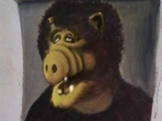 Alf como 'Ecce Homo'