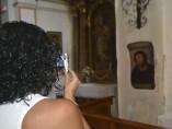 El 'Ecce homo' llena de turistas Borja