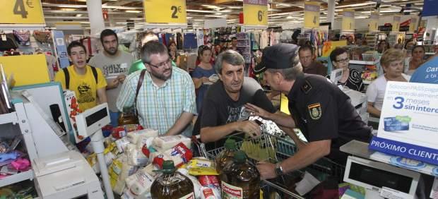 Asalto a un supermercado