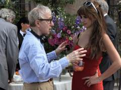 Woody Allen y Pen�lope Cruz
