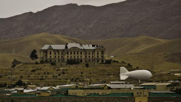Zepelines espía en Afganistán