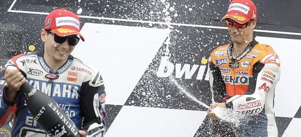Pedrosa y Lorenzo, duelo en Brno