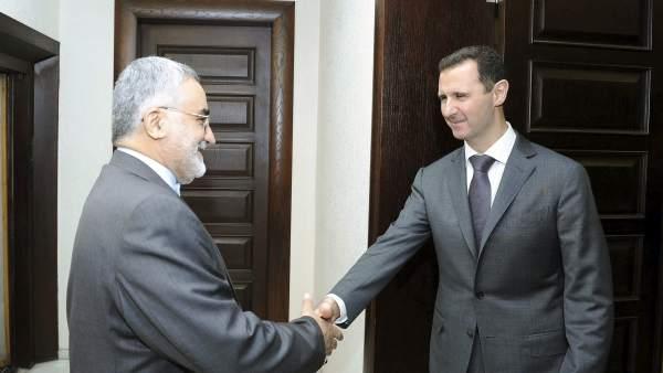 Al Asad recibe a un responsable iraní