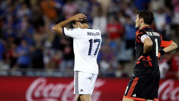 Casillas y Arbeloa se lamentan