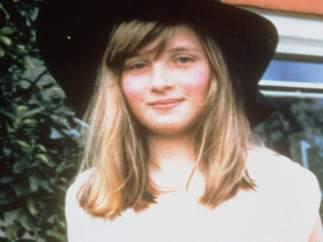 Diana Spencer con 9 años