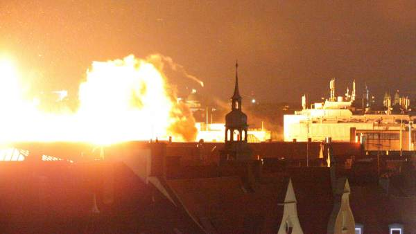 Explosión en Munich
