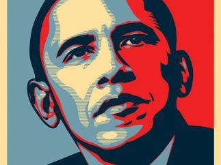 'Obama – Progress/Hope'
