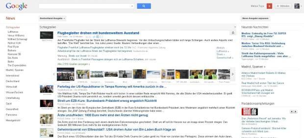 Google se plantea cerrar Google News en España debido al canon