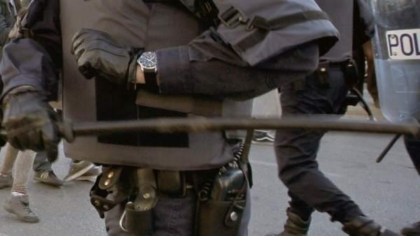 Policía antidisturbios