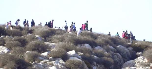 Inmigrantes en la Isla de Tierra