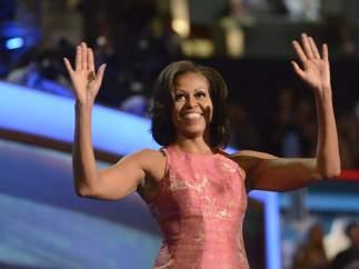 Michelle Obama en Charlotte