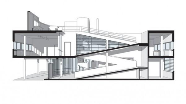 39 redibujan 39 las 26 viviendas del arquitecto le corbusier - Casas de le corbusier ...