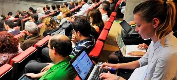 Estudiantes conferencia