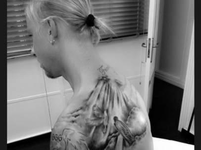 El nuevo tatuaje de Guti