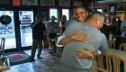 El gran abrazo de Obama