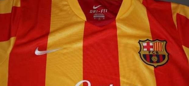 Camiseta Barça senyera