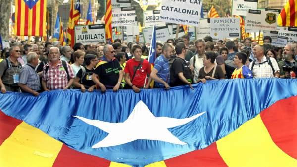 Diada en Cataluña