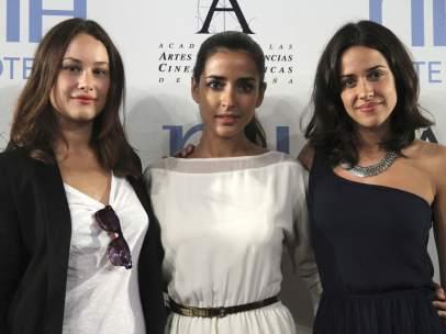 Aida Folch, Inma Cuesta y Macarena García.