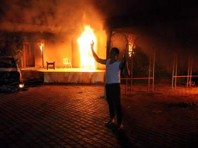 Ataque el Libia