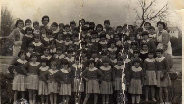Una fotografía del preventorio de Guadarrama