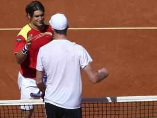 Querrey felicita a Ferrer
