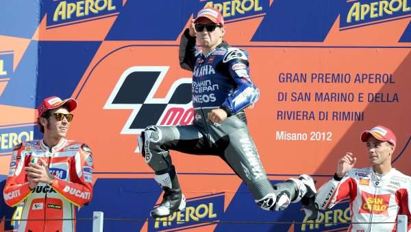 Jorge Lorenzo, campeón en San Marino