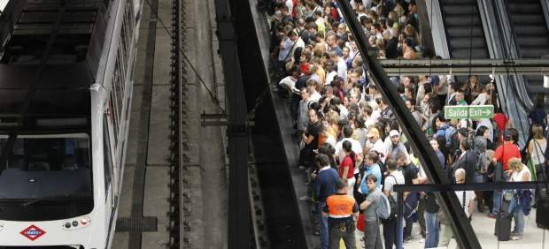 Huelga del transporte en Madrid