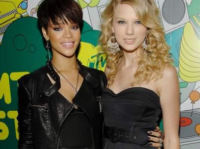 Rihanna y Taylor Swift