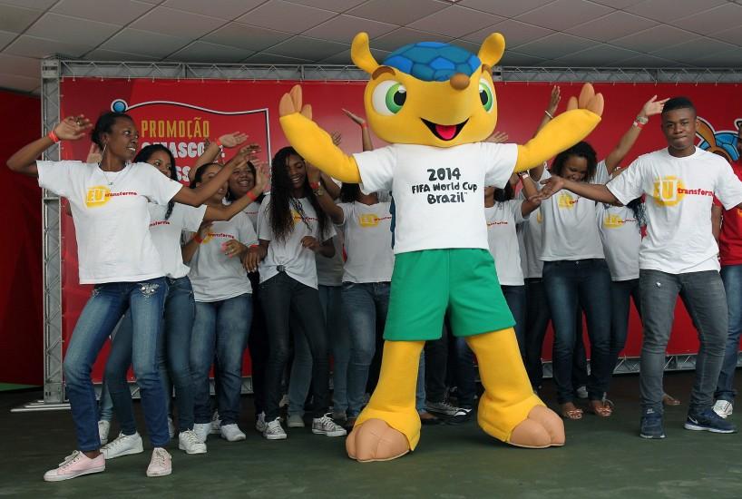 Mascota oficial de Brasil 2014