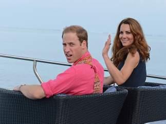 Los duques de Cambridge, Guillermo y Catalina