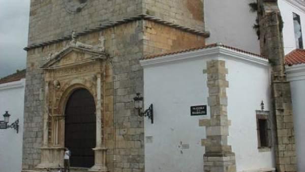 Iglesia de la Magdalena, en Olivenza