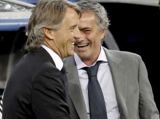 Mourinho y Mancini