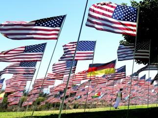 2.997 banderas por las víctimas del 11-S
