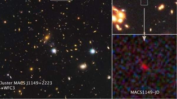 La galaxia MACS1149-JD
