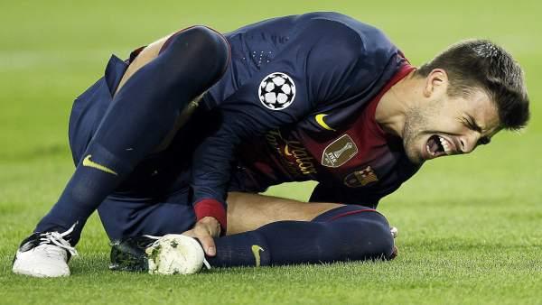 Gerard Piqué lesionado