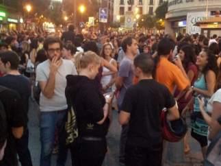 Protestas por el cierre del CSO Casablanca